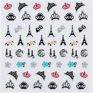 STICKERS - STRASS Adhésifs Pour Ongles Décors Paris-Peggy sage