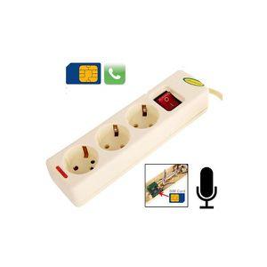 Système d'écoute Multiprise Micro espion GSM quadri bande écoute…