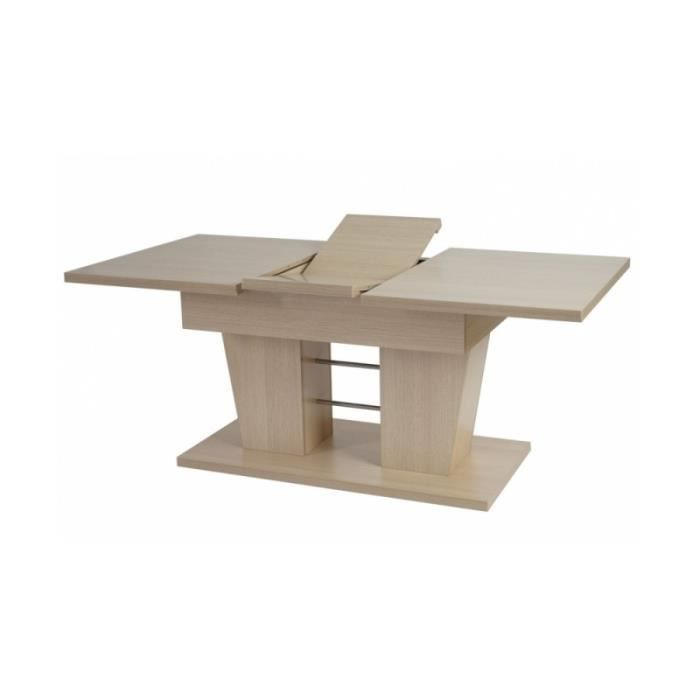 Table de salle manger couleur ch ne 140 180 cm achat for Achat table de salle a manger