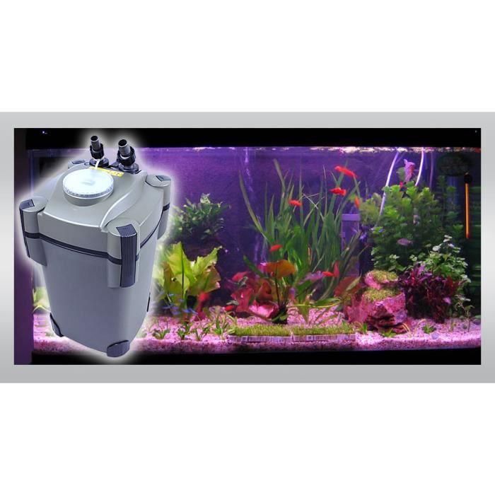 aquarium filtre ext rieur 1600l h avec lampe uv achat vente filtration pompe aquarium. Black Bedroom Furniture Sets. Home Design Ideas