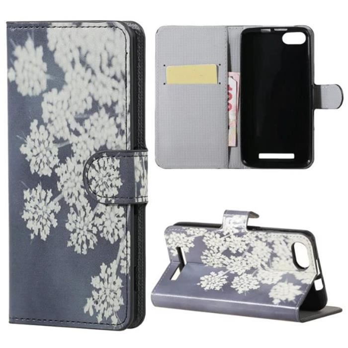 Wiko lenny 3 coque tui rabat magn tique portefeuille for Wiko lenny 3 housse
