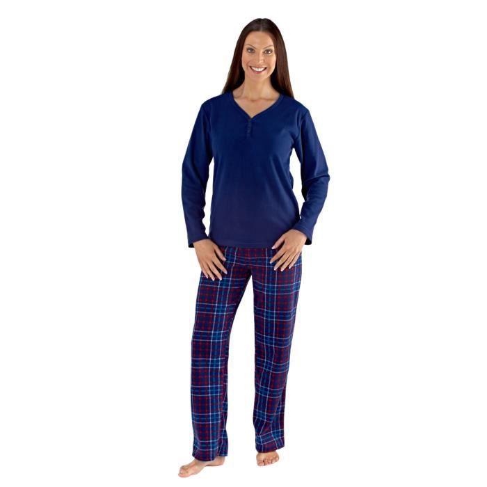pyjama femme en polaire. Black Bedroom Furniture Sets. Home Design Ideas