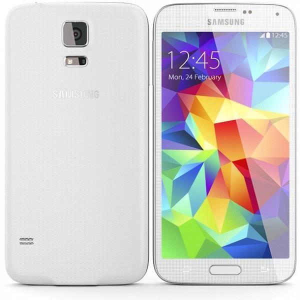samsung g900f galaxy s5 16go blanc achat smartphone pas. Black Bedroom Furniture Sets. Home Design Ideas