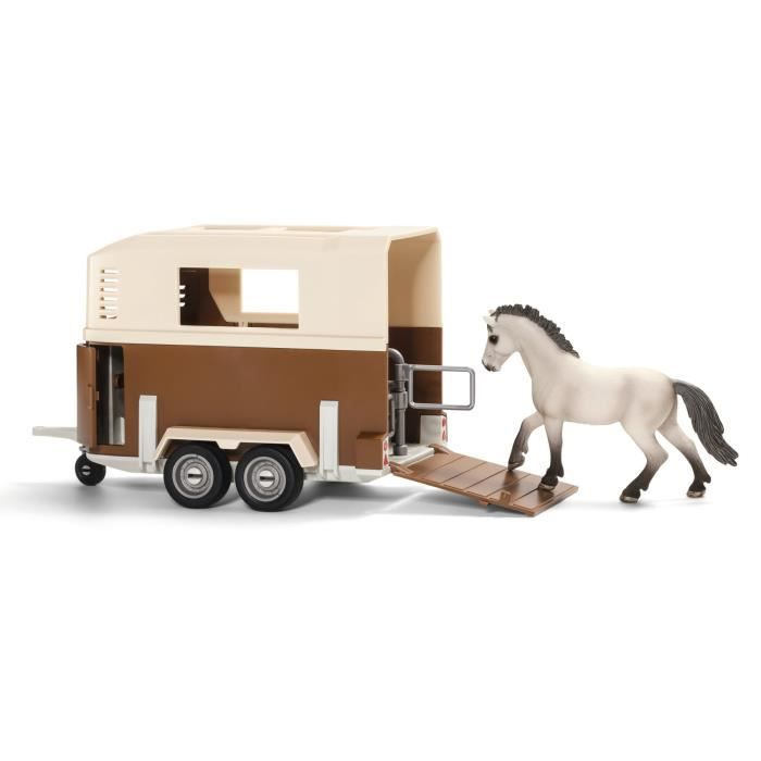 schleich le van pour cheval achat vente voiture camion soldes cdiscount. Black Bedroom Furniture Sets. Home Design Ideas