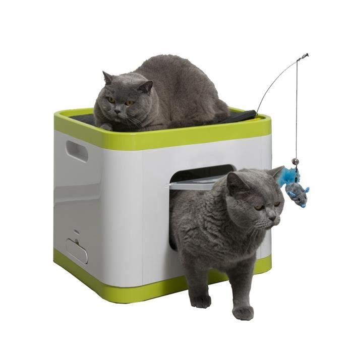 maison de toilette chat le cube achat vente maison de toilette maison de toilette chat le. Black Bedroom Furniture Sets. Home Design Ideas