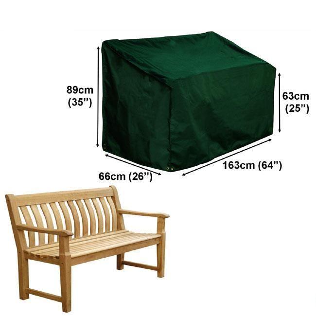 Housse pour banc de jardin 3 places gamme confort achat for Housse meuble de jardin