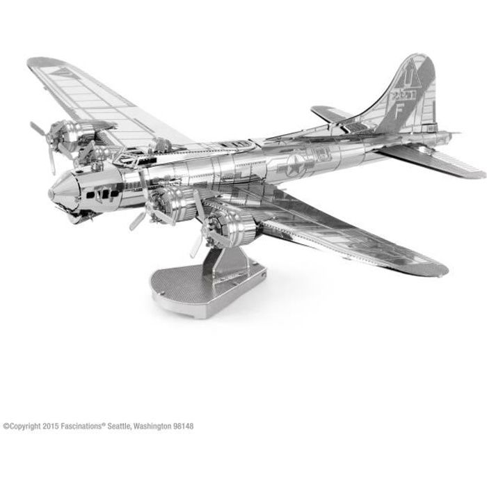 maquette m tal avion b 17 flying fortress m tal earth. Black Bedroom Furniture Sets. Home Design Ideas