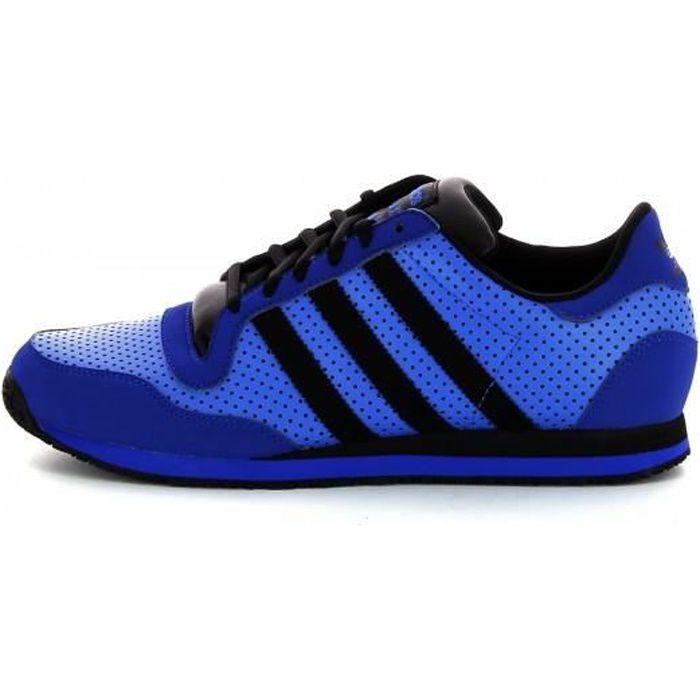 basket adidas bleu