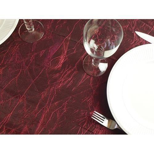 nappe anti t che froiss e ronde lie de vin achat vente nappe de table cdiscount. Black Bedroom Furniture Sets. Home Design Ideas