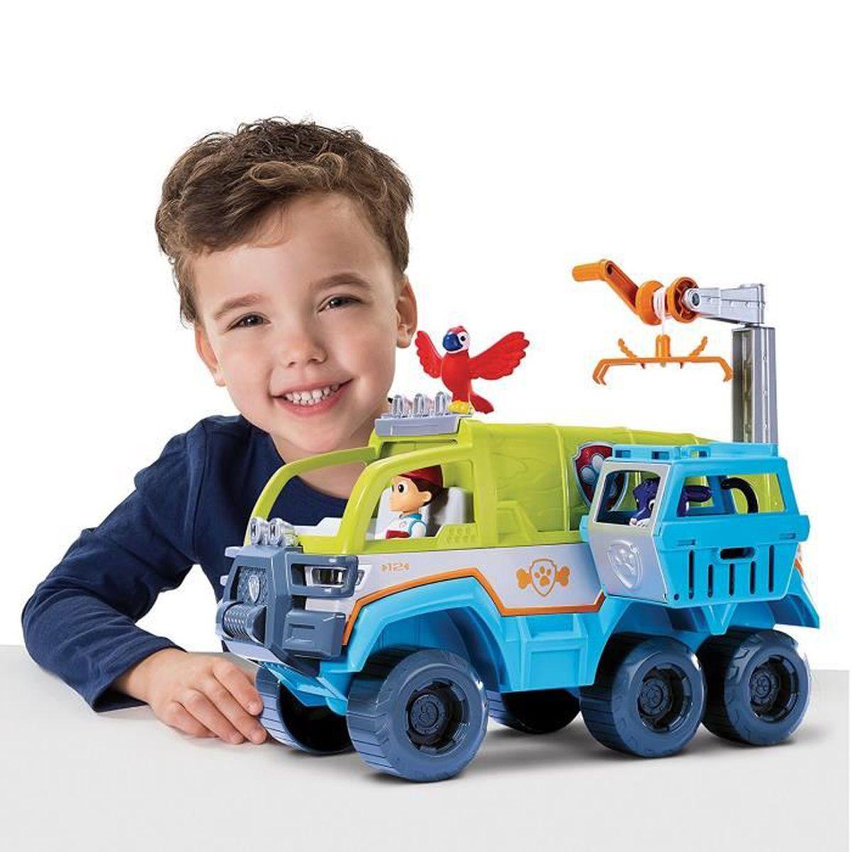 pat 39 patrouille jungle rescue camion tout terrain achat vente figurine personnage cdiscount. Black Bedroom Furniture Sets. Home Design Ideas