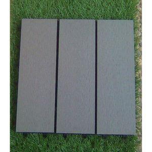 dalles de jardin en bois achat vente dalles de jardin en bois pas cher cdiscount. Black Bedroom Furniture Sets. Home Design Ideas