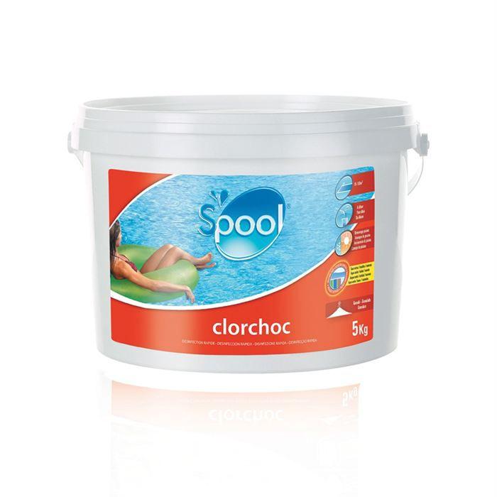 Chlore choc 5 kg granul s achat vente traitement de l - Traitement choc piscine ...