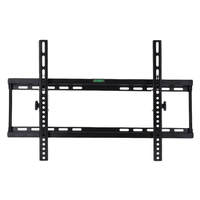 support mural tv inclinable noir r 233 glable m 233 tal pour 40 70 pouces fixation support tv avis