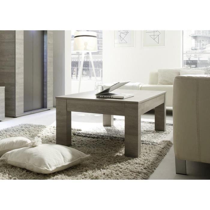 table basse ch ne gris canberra 137 cm achat vente table basse table basse ch ne gris canb. Black Bedroom Furniture Sets. Home Design Ideas