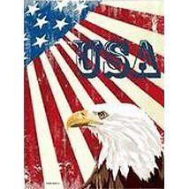 Plaque metal 30x20cm usa american eagle achat vente for Deco murale usa