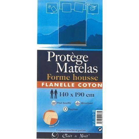 protege matelas 90x190 cm flanelle coton lilas achat. Black Bedroom Furniture Sets. Home Design Ideas