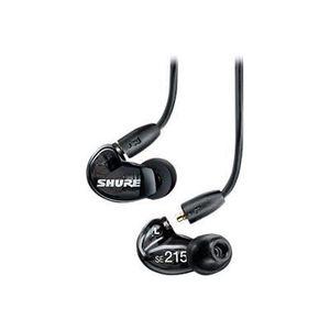 SHURE SE215-K Ecouteurs intra-auriculaires Haute définition Noirs