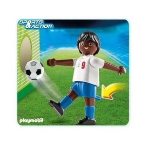 assemblage construction playmobil joueur football sports action 4736 a