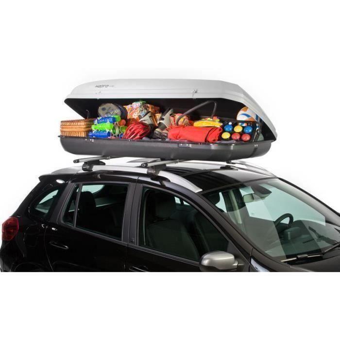 coffre de toit roady 450 gris argent 420l achat vente coffre de toit coffre de toit roady. Black Bedroom Furniture Sets. Home Design Ideas