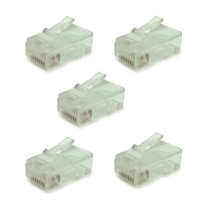 Connecteur rj45 cat6 prix pas cher les soldes sur - Connecteur rj45 cat 6 ...