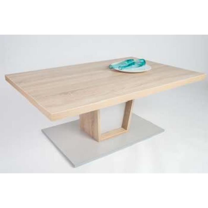 Table basse issam sonoma ch ne clair 1100 x 68 achat - Table basse chene sonoma ...