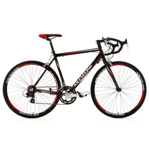 VÉLO DE COURSE - ROUTE Vélo de course 28'' Euphoria noir TC 62 cm