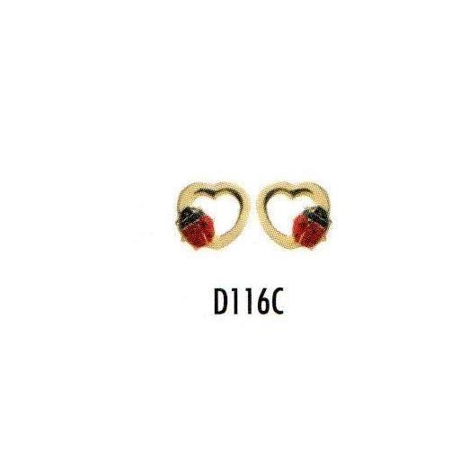 boucle d 39 oreille enfant coeur coccinelle en or achat vente boucle d 39 oreille boucle d 39 oreille. Black Bedroom Furniture Sets. Home Design Ideas