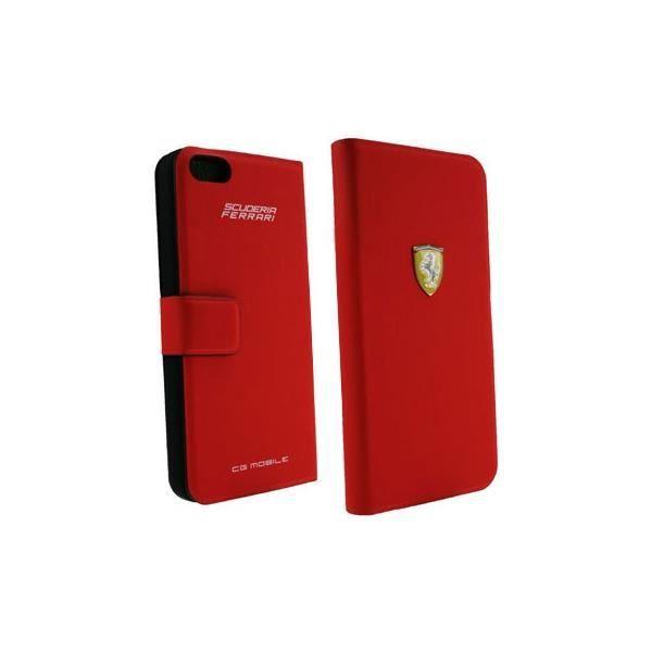 Housse ferrari rouge pour iphone 5 5s achat vente for Housse pour iphone 5