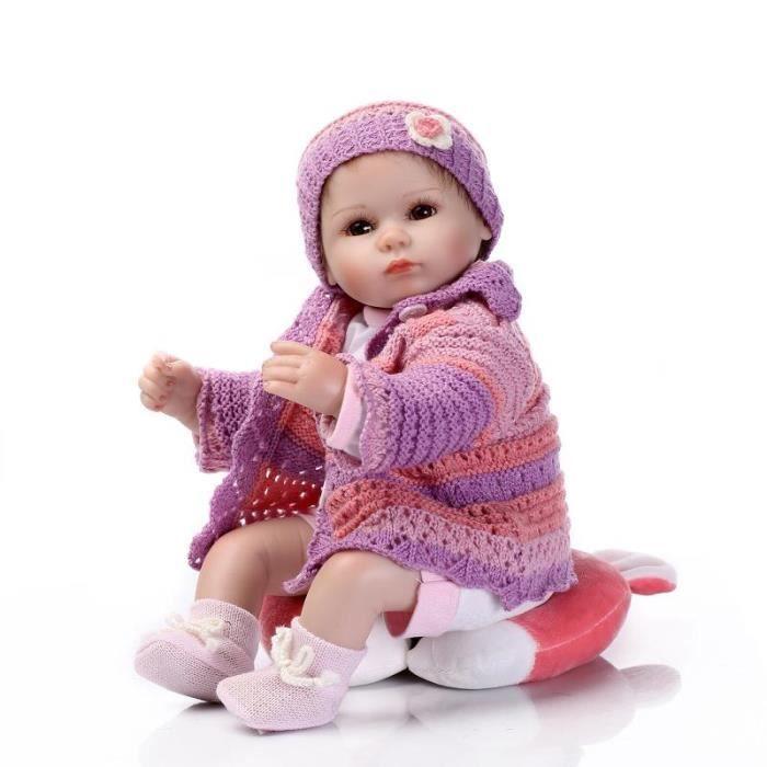 jouets b b nouveau n poup e fille gar on anniversaire de 42cm reborn baby dolls kid cadeaux. Black Bedroom Furniture Sets. Home Design Ideas