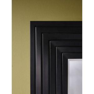 Miroir en vague achat vente miroir en vague pas cher for Miroir noir design