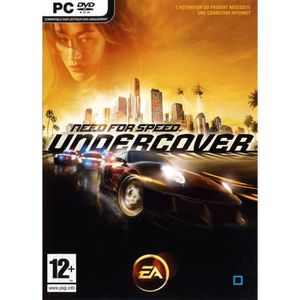 JEU PC NEED FOR SPEED UNDERCOVER / JEU PC DVD-ROM