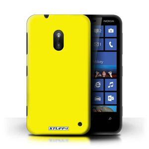COQUE - BUMPER Coque de Stuff4 - Coque pour Nokia Lumia 620 - Jau