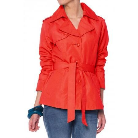 Trench Vero Moda Twilight rouge Achat / Vente manteau caban Trench