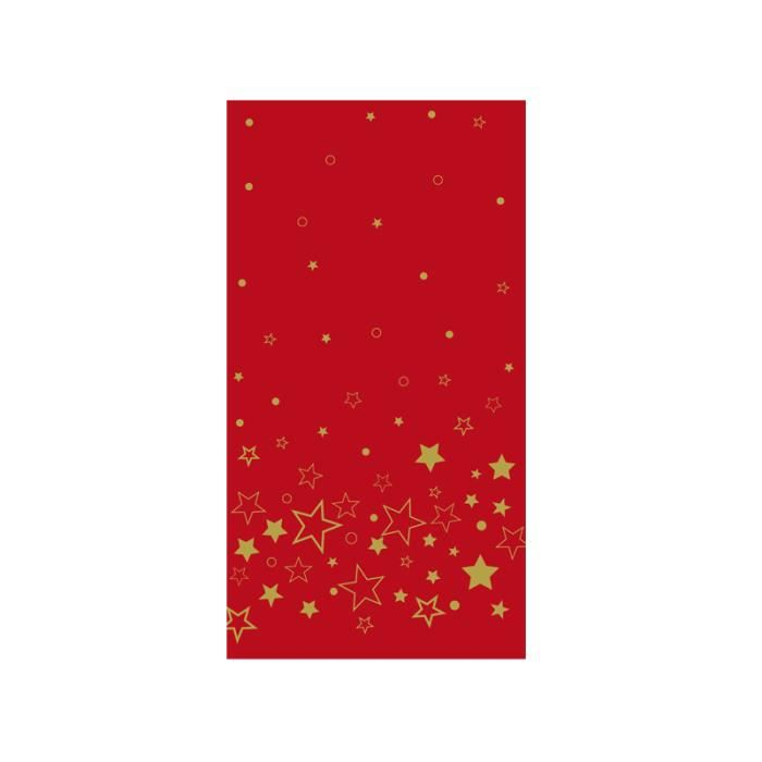 Nappe en rouleau de papier damass galaxie rouge achat for Nappe et chemin de table en papier