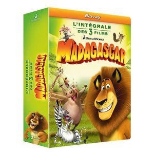 Blu-Ray Coffret trilogie Madagascar