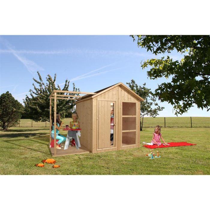soulet maisonnette en bois enfant ethan achat vente balan oire portique maisonnette ethan. Black Bedroom Furniture Sets. Home Design Ideas