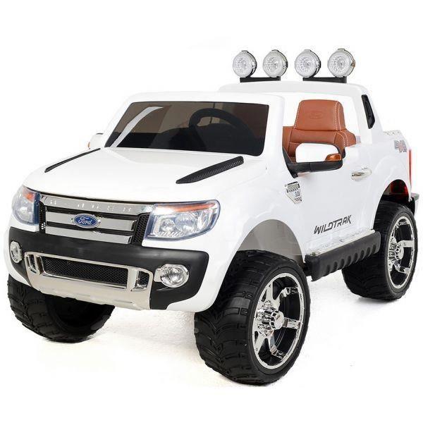 voiture lectrique 2 places 12v ford ranger blanc achat vente voiture enfant cdiscount. Black Bedroom Furniture Sets. Home Design Ideas