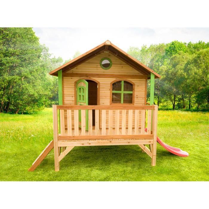 cabane en bois pour enfant achat vente maisonnette. Black Bedroom Furniture Sets. Home Design Ideas