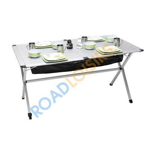 Table pliable 6 personnes 140x80 cm pour s jo achat for Table pour 6 personnes