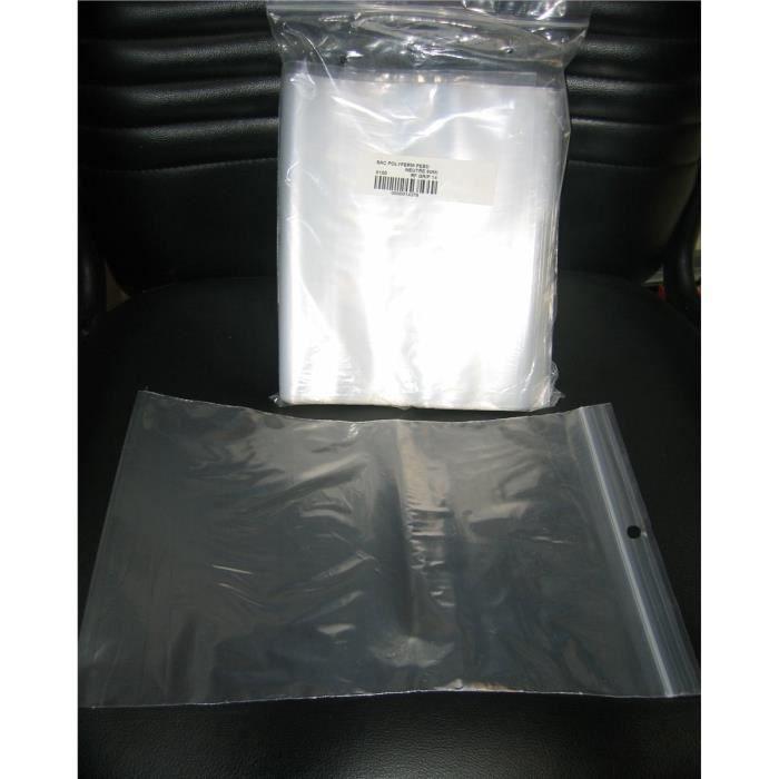 sachets avec fermeture zip 200x300mm par 100 achat vente sac alimentaire sachets avec. Black Bedroom Furniture Sets. Home Design Ideas