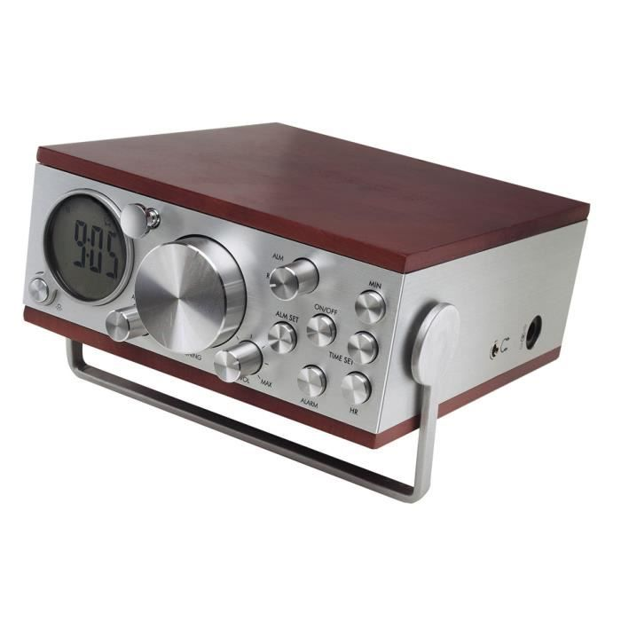 radio reveil digital design radio cd cassette avis et prix pas cher les soldes sur. Black Bedroom Furniture Sets. Home Design Ideas