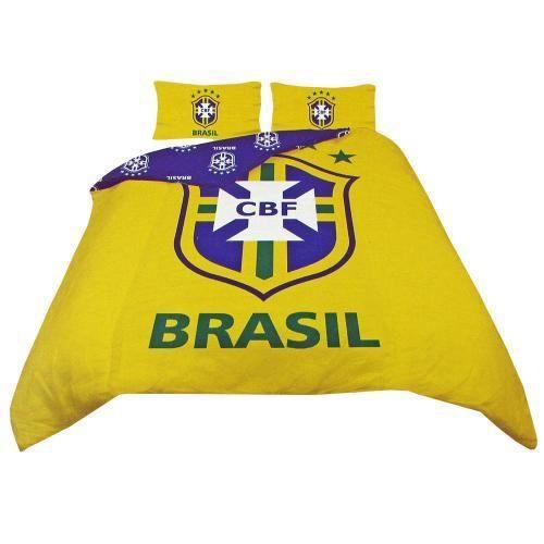 Brasil double duvet set achat vente housse de couette - Housse de couette double ...