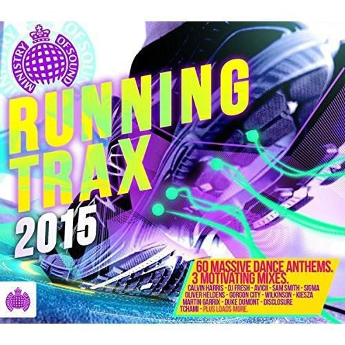 Fitness Dvd Ministry Of Sound: Ministry Of Sound: Running Trax 2015 / Various