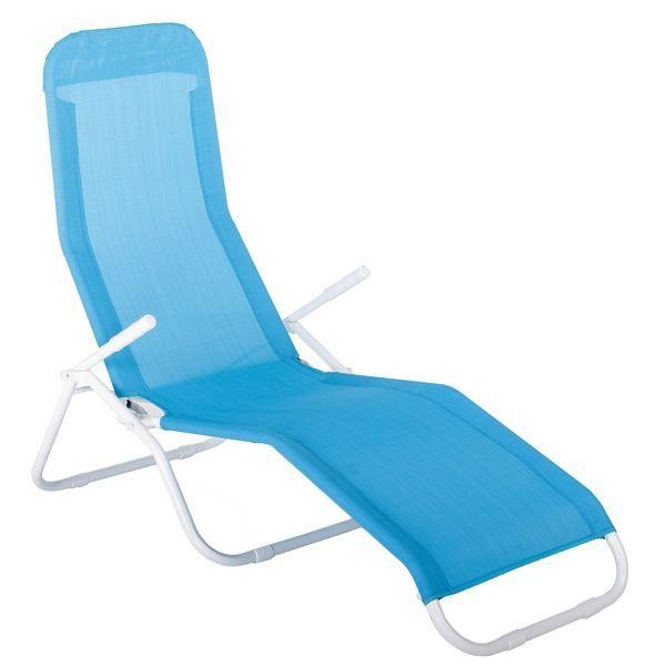 transat lit bain de soleil pacha azur achat vente. Black Bedroom Furniture Sets. Home Design Ideas