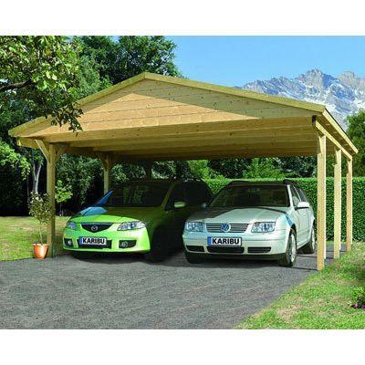 carport 2 pentes trouvez le meilleur prix sur voir avant. Black Bedroom Furniture Sets. Home Design Ideas