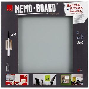 memo board achat vente memo board pas cher cdiscount. Black Bedroom Furniture Sets. Home Design Ideas