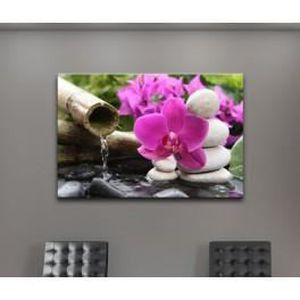 tableau orchidee achat vente tableau orchidee pas cher les soldes sur cdiscount cdiscount. Black Bedroom Furniture Sets. Home Design Ideas
