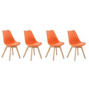 Chaise salle a manger orange achat vente chaise salle a manger orange pas - Chaise salle a manger pas cher lot de 4 ...