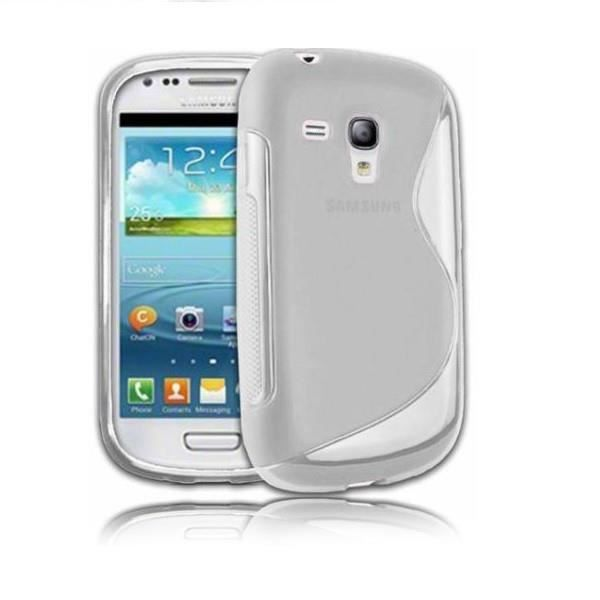 Coque s line samsung galaxy s3 mini gris etui housse for Housse samsung s3
