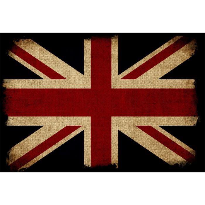 Stickers muraux d co drapeau anglais dimensions 70x103cm achat vente - Stickers muraux deco ...